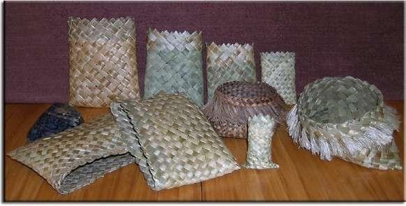RARANGA ... Flax weaving