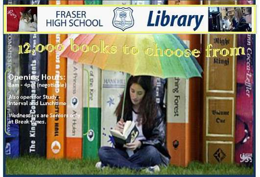 Image for Fraser School Library